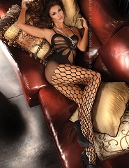 "BODYSTOCKING ""ARTEMIDA BLACK"" - BLC 0030"