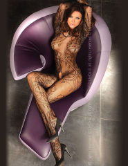 "BODYSTOCKING ""ABRA BLACK""- BLC 0012"